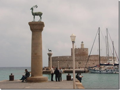 rhodes harbour