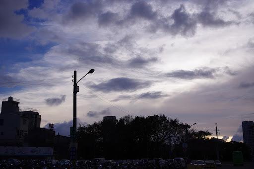 平地也能看到氣象萬千的雲海