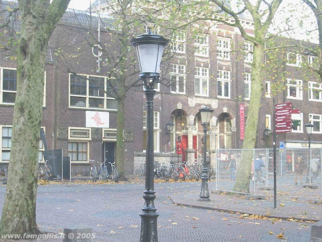 Utrecht, il cortile alberato