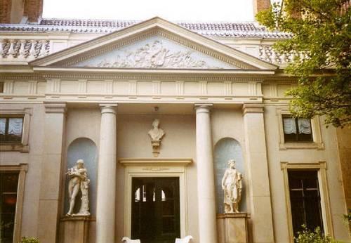 Amsterdam, il Museo Van Loon dall'esterno