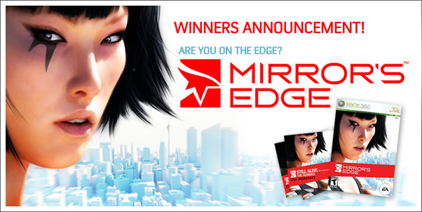 Mirror's Edge: Still Alive  - Contest Winners