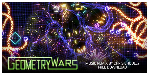 Music Remix from Geometry Wars!