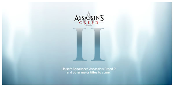 Ubisoft Annouces Assassin's Creed 2, Avatar, and more!