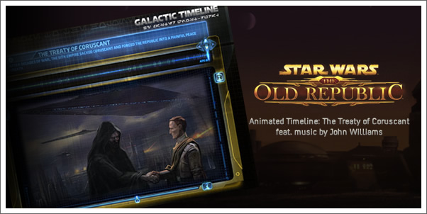Star Wars: The Old Republic: Galactic Timeline 1 incl. music by John Williams