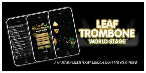 Smule launches Leaf Trombone - Music Multiplayer Gaming for your iPhone!