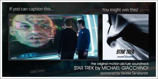 Win the Star Trek (Soundtrack) by Michael Giacchino!