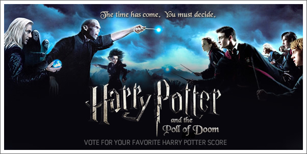 Vote for your favorite Harry Potter Score!