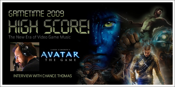 Gametime 2009 - Interview with Chance Thomas (Avatar:  The Game)