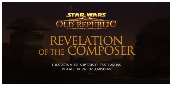 Star Wars:  The Old Republic Composers Revealed!