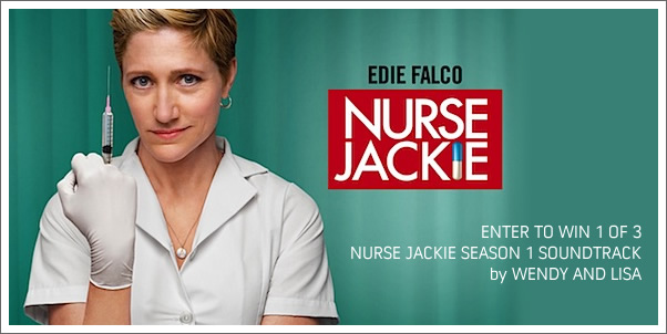 Tweet to Win NURSE JACKIE soundtrack by Wendy and Lisa