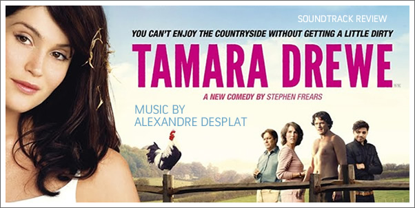 Tamara Drewe (Soundtrack) by Alexandre Desplat - Review