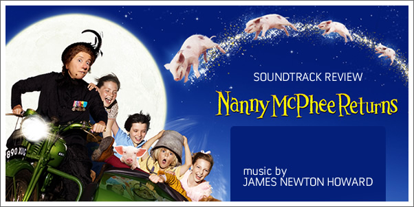 Nanny McPhee Returns (Soundtrack) by James Newton Howard - Review