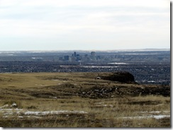 view of denver from table mountain