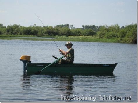 ловля на поппер с лодки