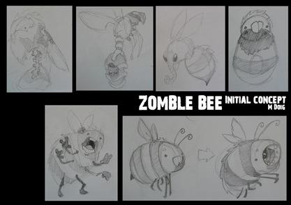 zomblebee_conceptBW