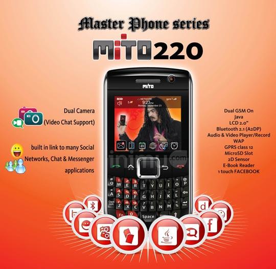 Mito 220 Master Phone series