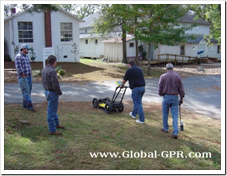 Forensic-gpr-subsurface-inspection