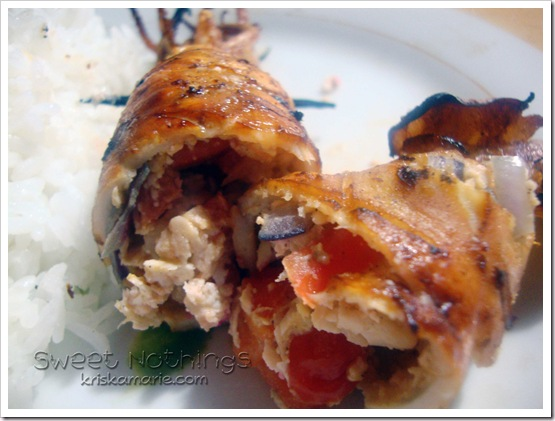 Printable Recipe: Grilled Stuffed Squid