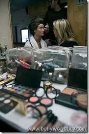 Rosie Huntington-Whiteley Backstage Chopard Campaign Shoot (5)