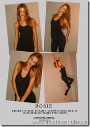 Rosie Huntington-Whiteley Polaroids (17)