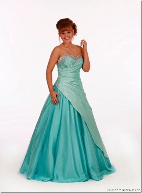 Eleanor, also in Red-Prom dress and ballgown