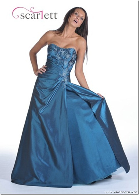Misty, also in Fuchsia, Red and Purple-Prom dress and ballgown