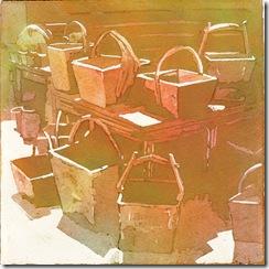 Flea Market Series #3 baskets