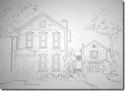peggys house drawing
