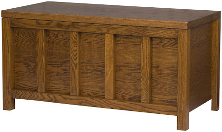 "46"" wide x 22"" high x 20"" deep Ashton Chest in Autumn Oak"