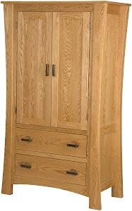zen armoire dresser