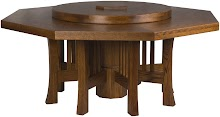 camden octagonal table