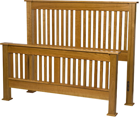 Sacramento Bed Frame in Natural Cherry