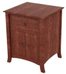 Lisbon Nightstand with Doors