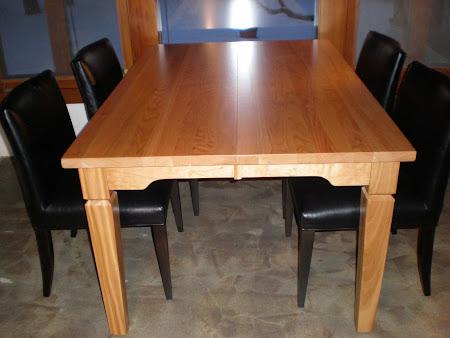 "51"" x 36"" Harvest Table in Cinnamon Oak"