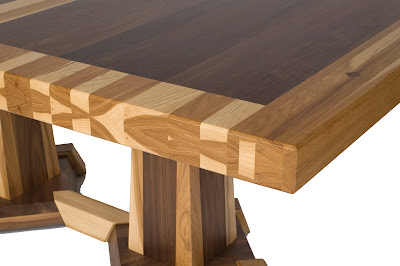 timber edge table