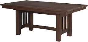 Albany mission dining table