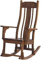 plains mission rocking chair