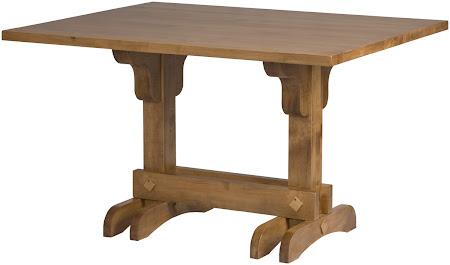 "50"" x 40"" Table in Custom Hard Maple"
