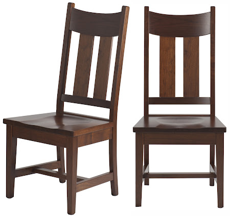 Montrose Dining Chair in Chocolate Cherry