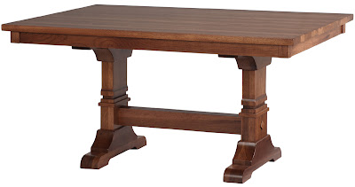 tuscany mission dining table
