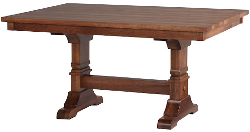 """50"""" x 42"""" Table in Calico Hickory"""