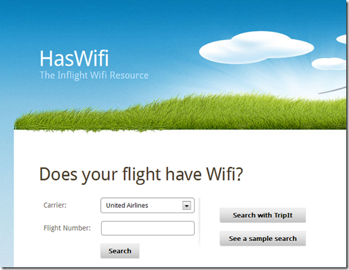 HasWifi - The Inflight Wifi Resource