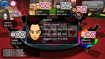 Screenshot of Holdem Connect