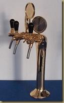 пивная колонна Принц - 3 крана (сбоку)
