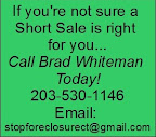 short sale foreclosure ct help-text banner contact info for Brad