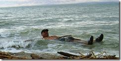 DMB Floating In Dead Sea