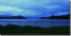 Blue Lake Sunset