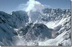 Mount St Helen Crater