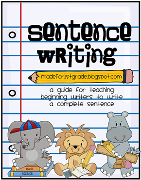 sentence structure unit 1
