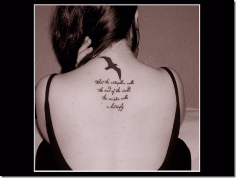 song lyric tattoos. Technorati Tags: tattoo